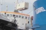 Bergung der Container der Sao Gabriel hat begonnen