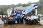 Heftige Unwetter und Überschwemmungen auf Terceira