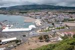 Neuer Parkplatz in Praia da Vitoria