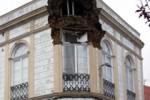 Altes Wohngebäude in Ponta Delgada teilweise eingestürzt