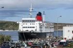 Express Santorini in Ponta Delgada angekommen