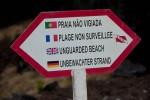 Unerlaubtes Baden kann auf den Azoren teuer werden