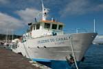 Weniger Fährpassagiere auf den Azoren