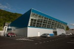 Neue Shopping-Mall in Lajes do Pico
