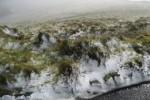 Schneefall den Azoren