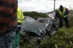 Ausflugsbus mit Rentnern auf Terceira verunglückt