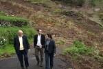 Regierung will Zufahrtsweg nach Fajazinha verbessern