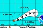 Hurricane Gordon wird stärker und nimmt Kurs auf Santa Maria