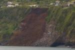 Erdrutsch macht 8 Familien auf Pico obdachlos