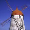 200 Jahre alte Windmühle in Ajuda da Bretanha für Gäste offen