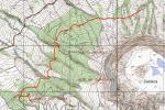Wanderweg Caminho da Levada auf Faial fertig